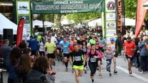 Μεταγωνιστικό Δελτίο Τύπου του Kissavos Marathon Race