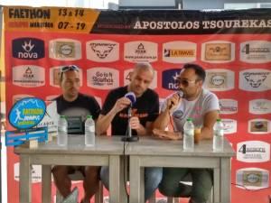 Συνέντευξη τύπου στην Αθήνα για τον Faethon Olympus Marathon, παράταση εγγραφών μέχρι 15 Ιουνίου 2019, η Yiam Pasta Party sponsor !