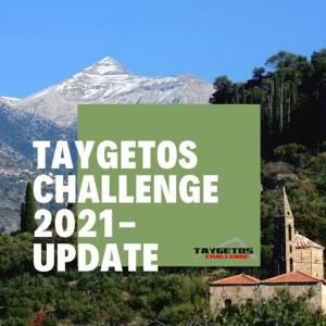 ΑΚΥΡΩΣΗ ΔΙΕΞΑΓΩΓΗΣ TAYGETOS CHALLENGE 2021!