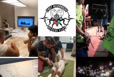 "First Responders ""Rescue Flies"": Μια ομάδα «δρομέων πρώτων βοηθειών» !"