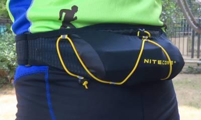 Ζώνη τρεξίματος & soft flask NITECORE !